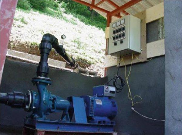 پمپ به عنوان توربین (Pump As Turbine ) در یک نیروگاه کوچک برق آبی